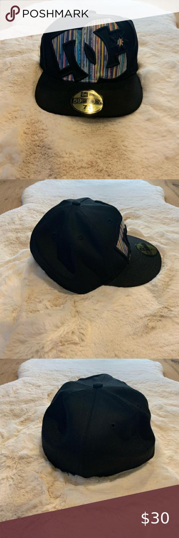 Dc Shoes Black Hat Sz 7 1 4 Dc Shoes Black Shoes Hat Sizes
