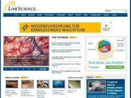 Live Science es una página web de noticias sobre Ciencias de la Vida.