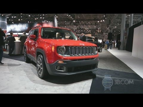 2015 Jeep Renegade 2014 New York Auto Show Jeep Renegade 2015