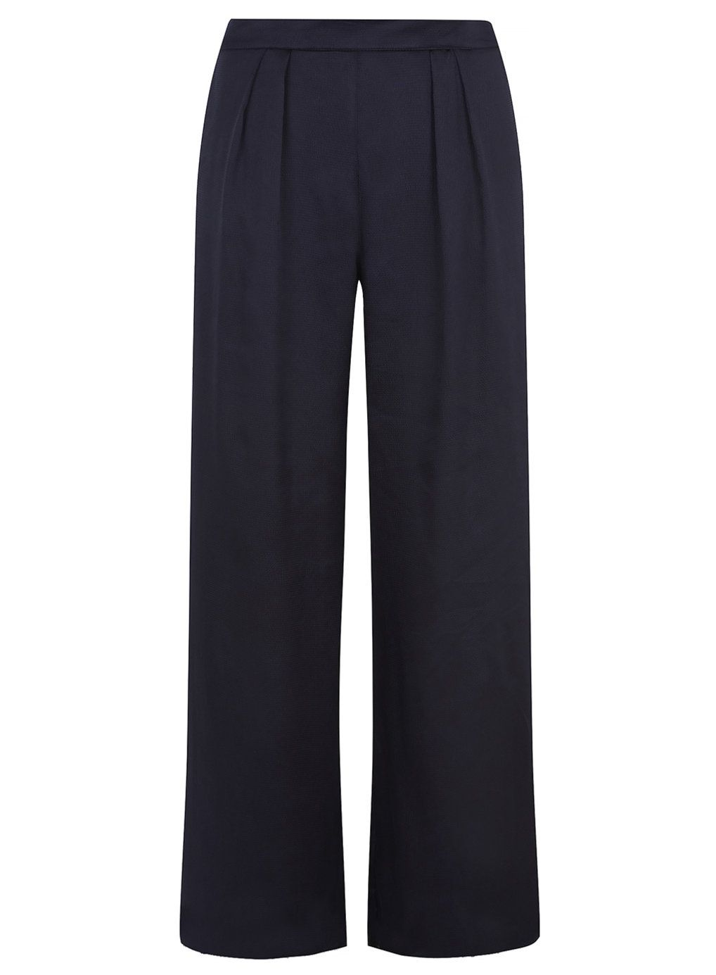 b2885dc18ee Navy satin palazzo trousers - Dorothy Perkins | My Style | Palazzo ...