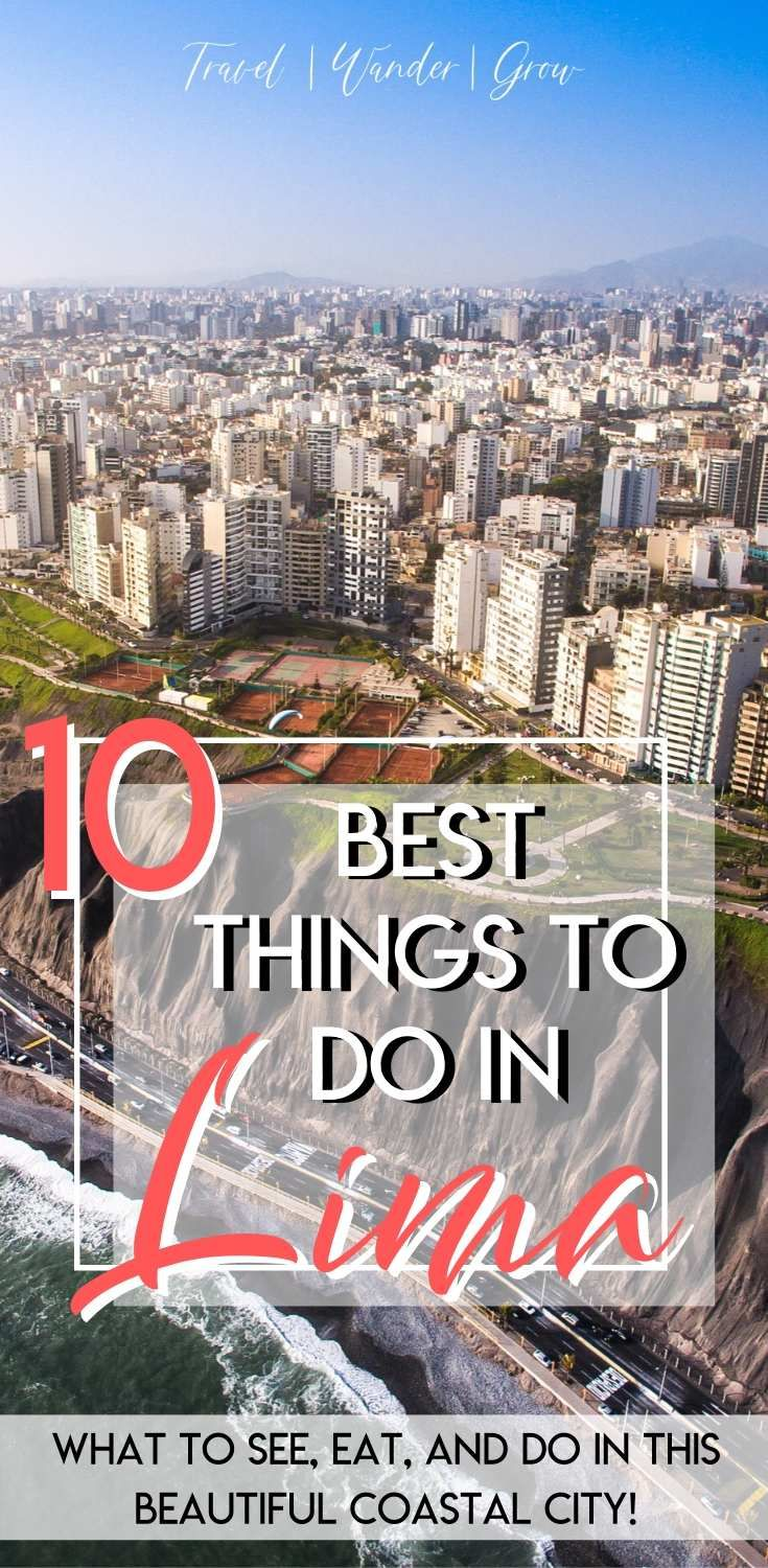 Lima is a sprawling city that is full of hidden gems that you should explore. This Lima, Peru Travel Guide provides details on what to do in Lima (as well as what you probably should not do) in a four-day itinerary. This guide also includes a brief history of the city. #limaperu #thingstodoinperu