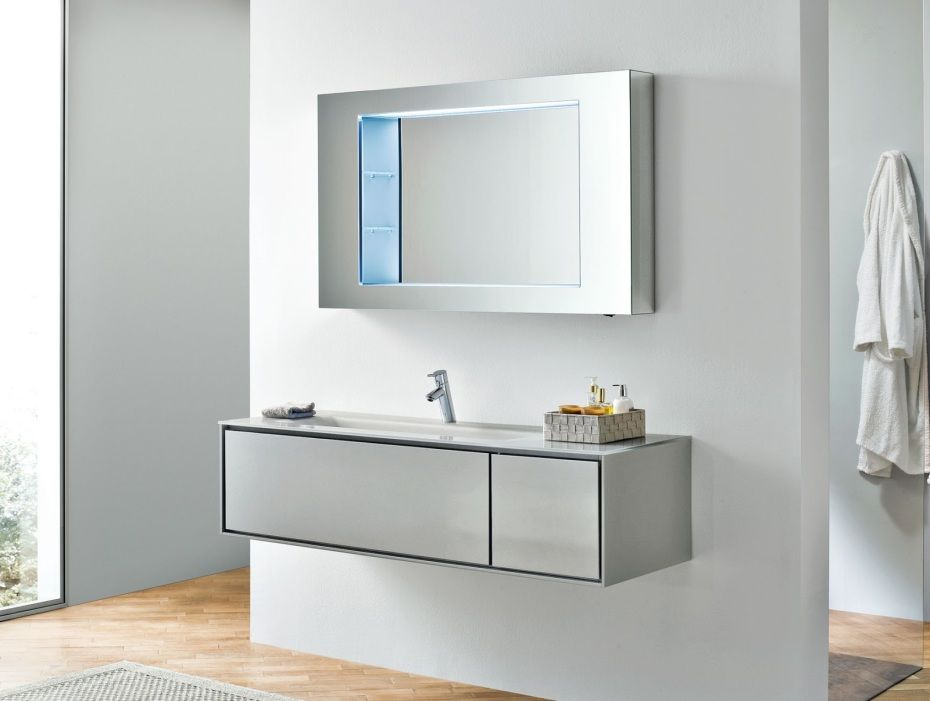 Photo Gallery For Website Bathroom Vanities Ikea And Modern Floating Silver Wooden Vanity Also Black Bathroom Vanity of Narrow Bathroom