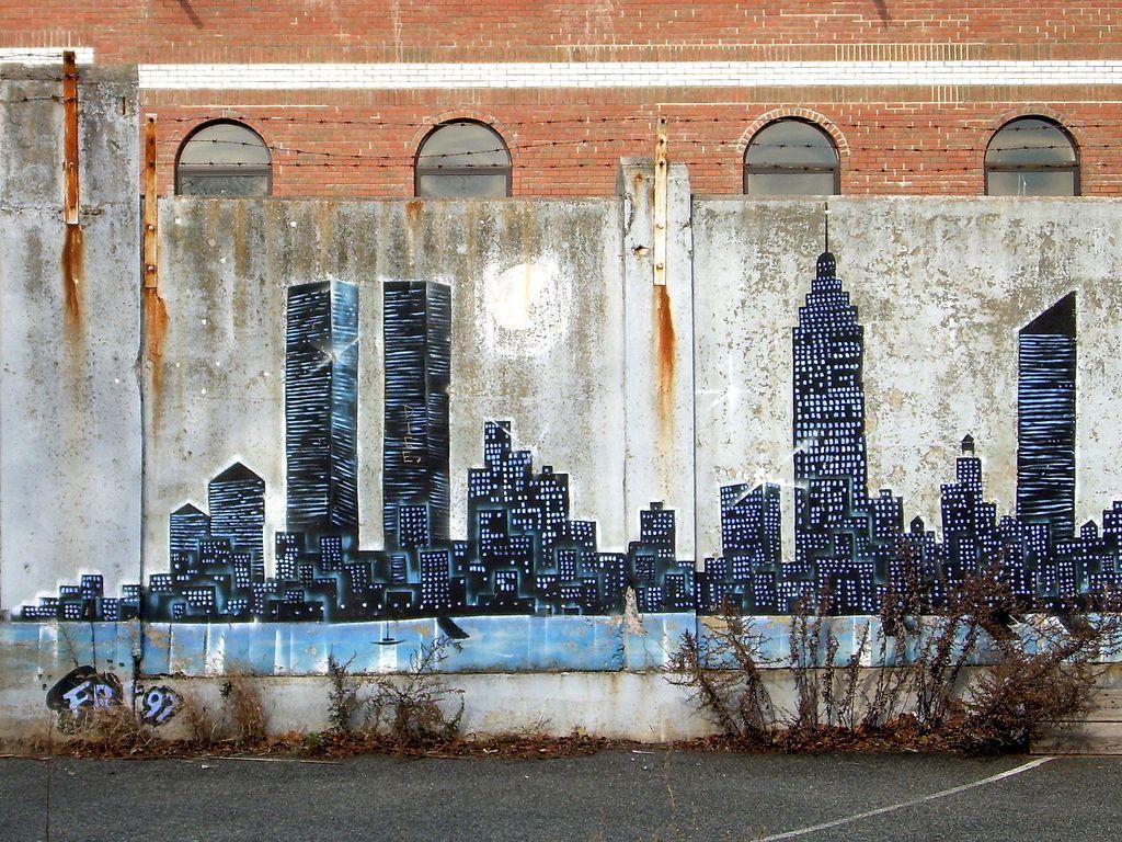 Graffiti Cityscape