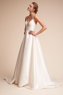 Bhldn Is Anthropologie S Bridal Division And Has Super Pretty Dresses That Aren T Flashy