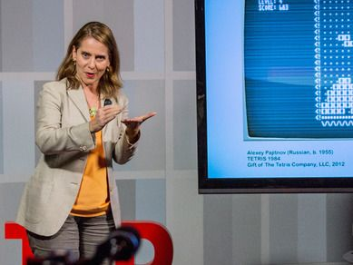 Paola Antonelli: Why I brought Pac-Man to MoMA | Video (TED.com, 2013)