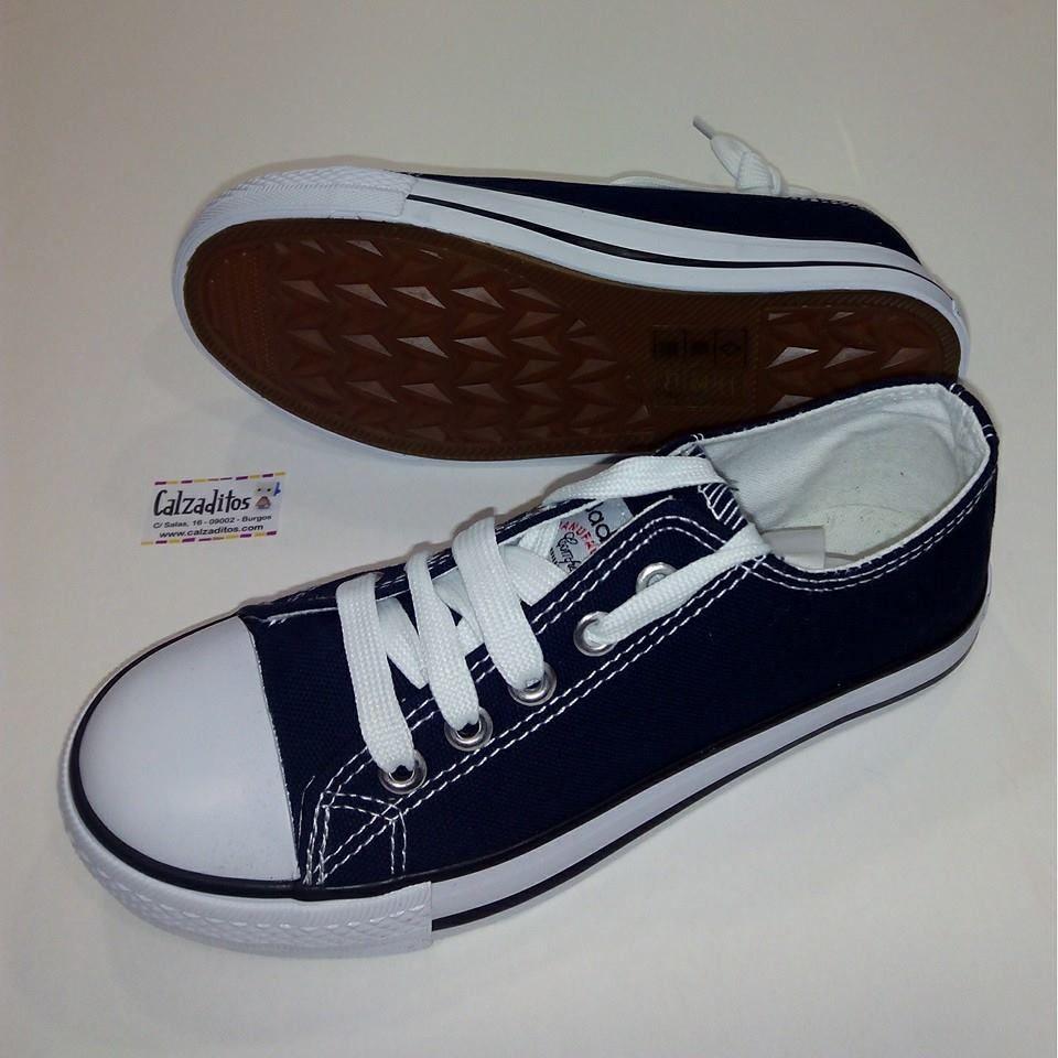 zapatillas niño tipo converse