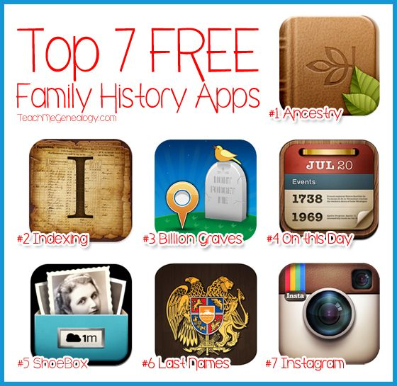 Top 7 Free Family History Apps for iPad or iPhone ~ Discover a new - spreadsheet app free ipad