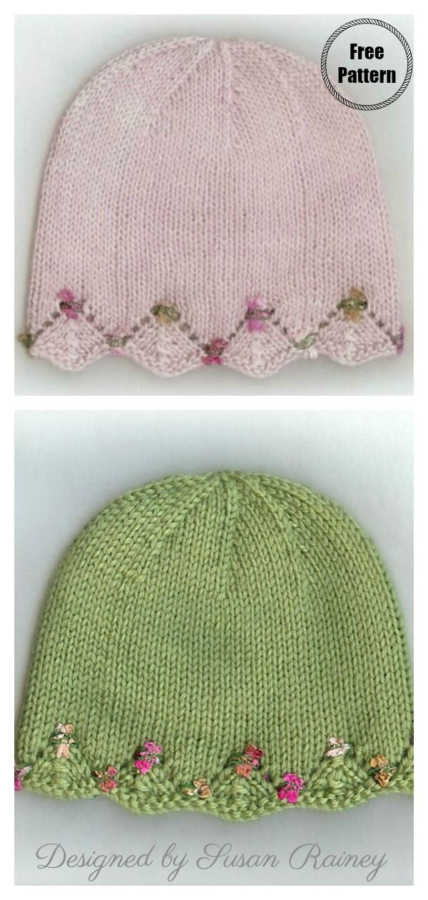 Photo of One Day Baby Hat Free Knitting Pattern