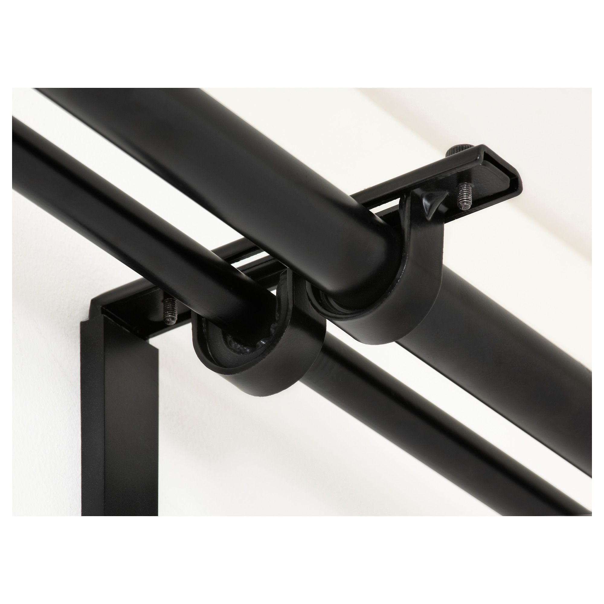 IKEA - BETYDLIG Curtain Rod Holder Black