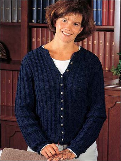 Looking For An Easy Cardigan Knitting Pattern This Free Knitting
