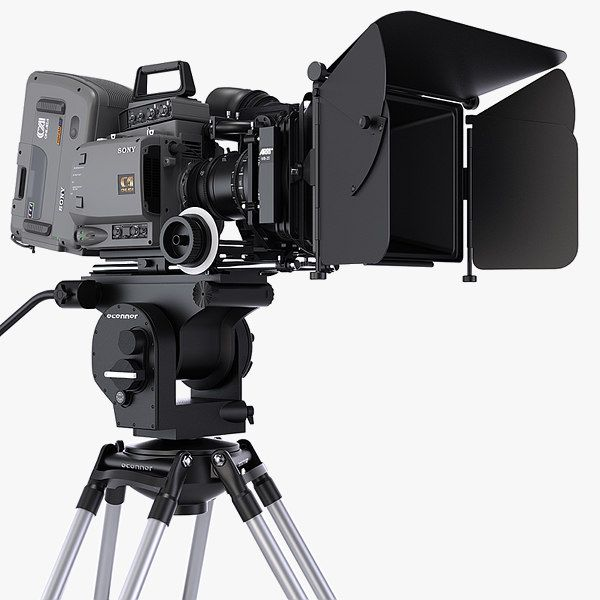 Sony F35 Cinealta Hdcam Max 3d Model Cinema Camera Sony