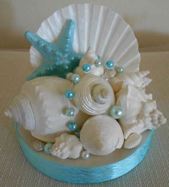 Beach Wedding Cake Topper Starfish And By Nataliehagandesigns
