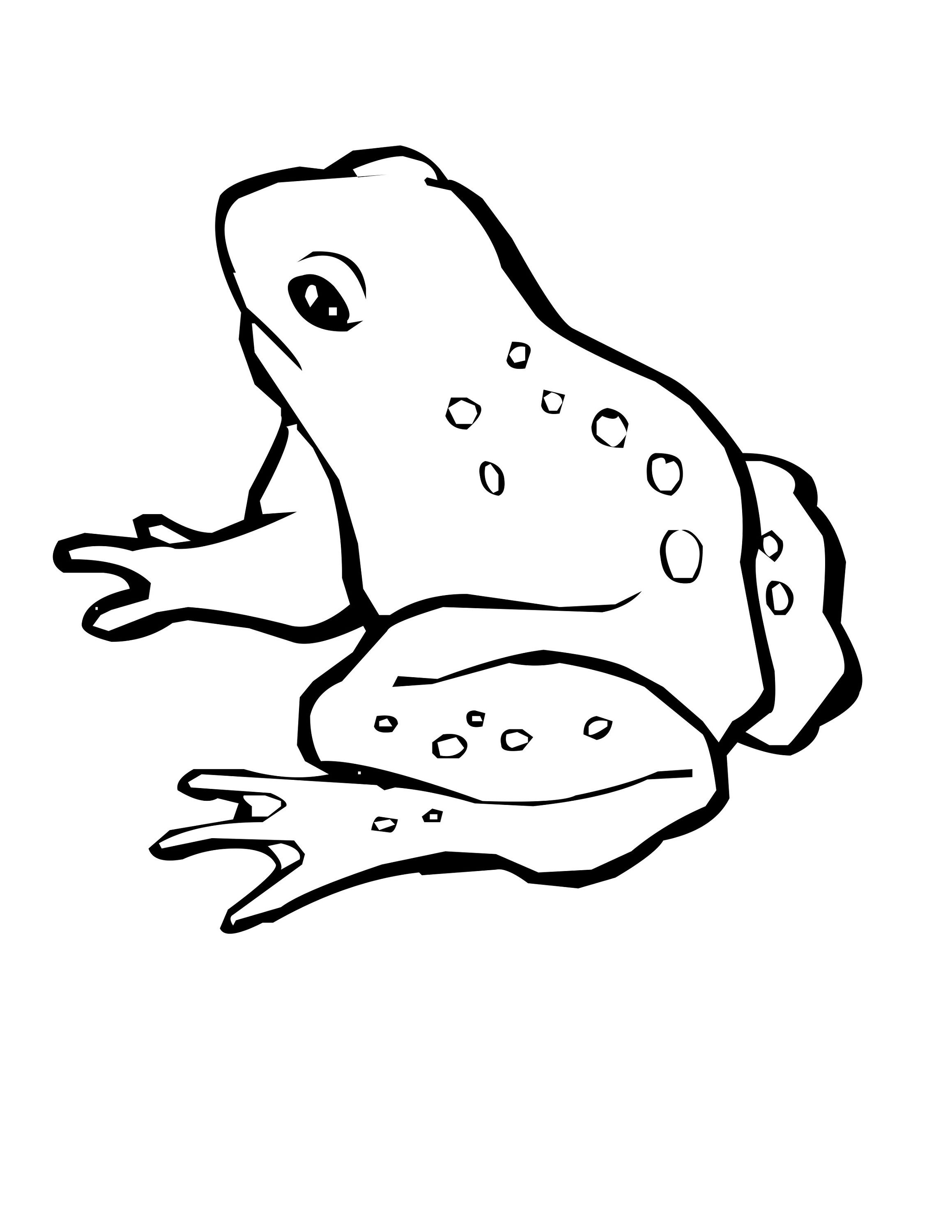 Frog Color Pages for Kids   Activity Shelter   Coloring Pages for ...