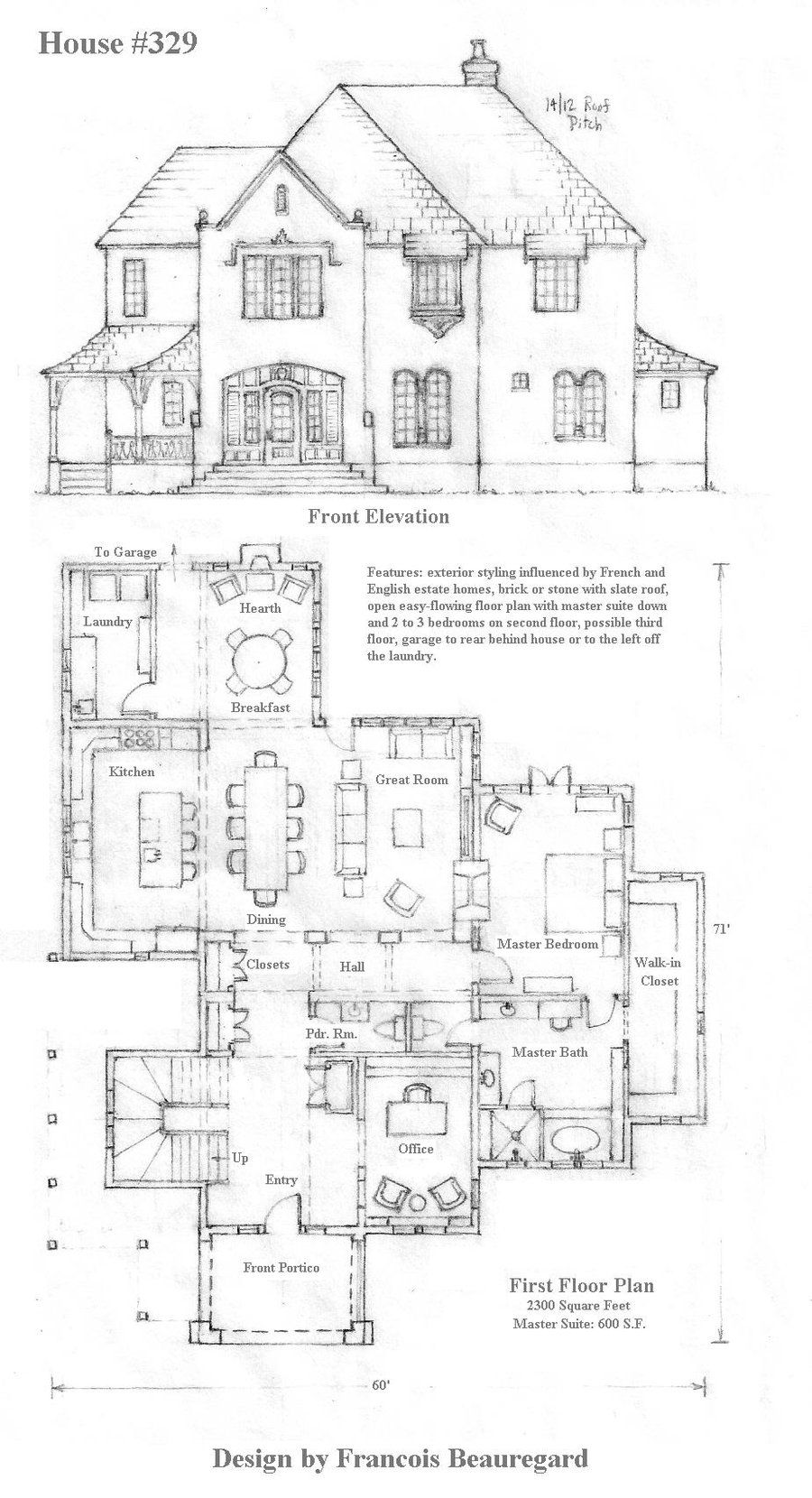 Vintage Architectural Blueprints House 329 Plan By Built4ever Deviantart Draft In 2019