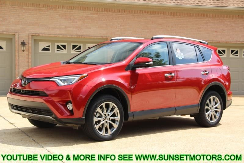 For Sale: 2016 TOYOTA RAV4 LIMITED at Sunset Motors Inc.