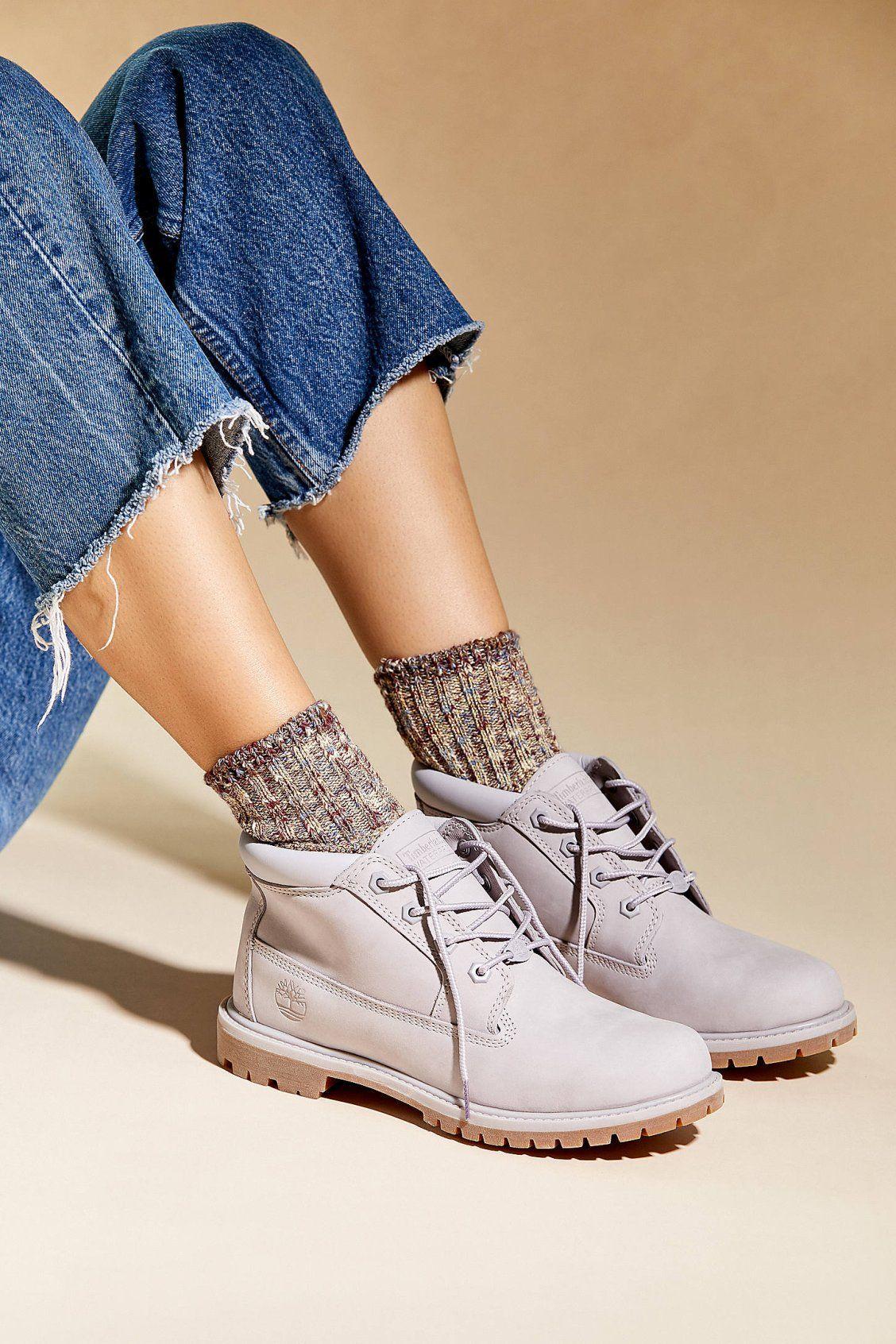 Timberland Nellie Chukka Double Waterproof Boots Black Mono