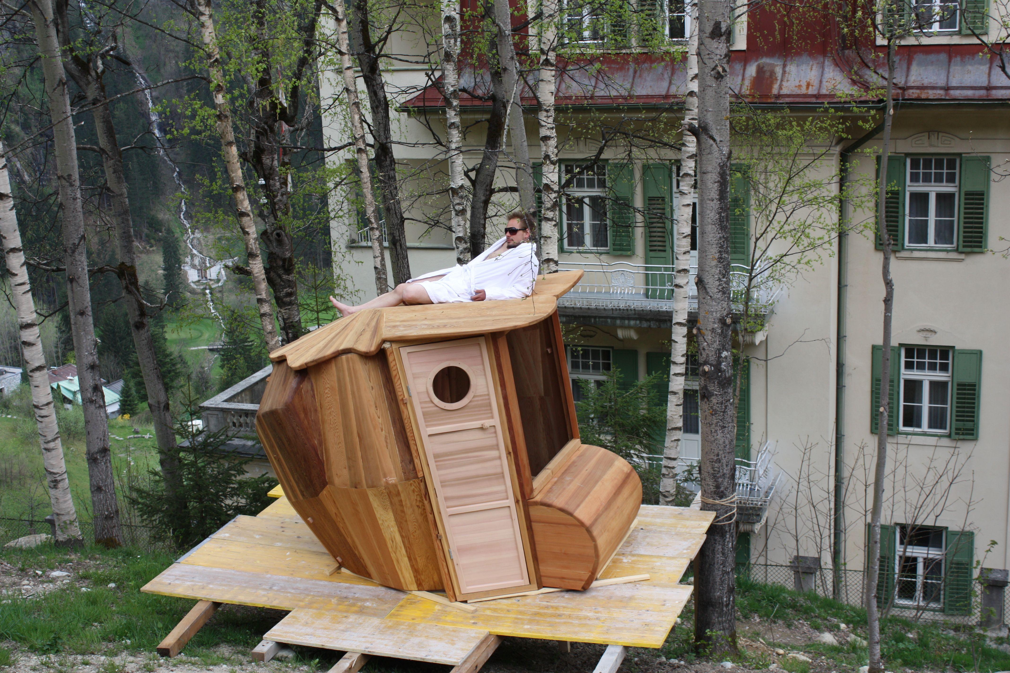 Sauna: Bobbelbanja Rotzeder Bad Gastein 2013