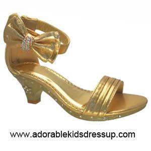 f447856fc8c Kids High Heel Shoes-gold-gz | Hamilton dress | High heels for kids ...