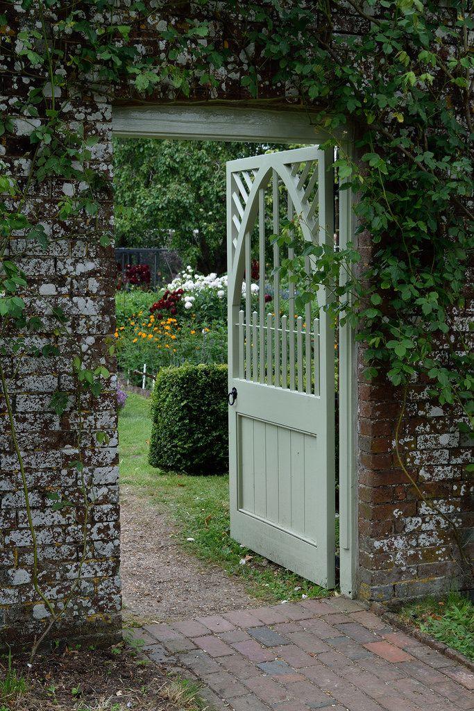 A Walled Garden 160724 24 Garden stairs, Garden gates