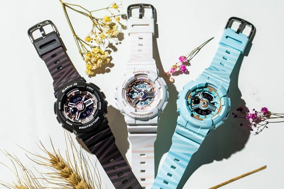 ad014ae2a81a6 Baby-G BA-110CH with PUNTO It Design G Shock Watches