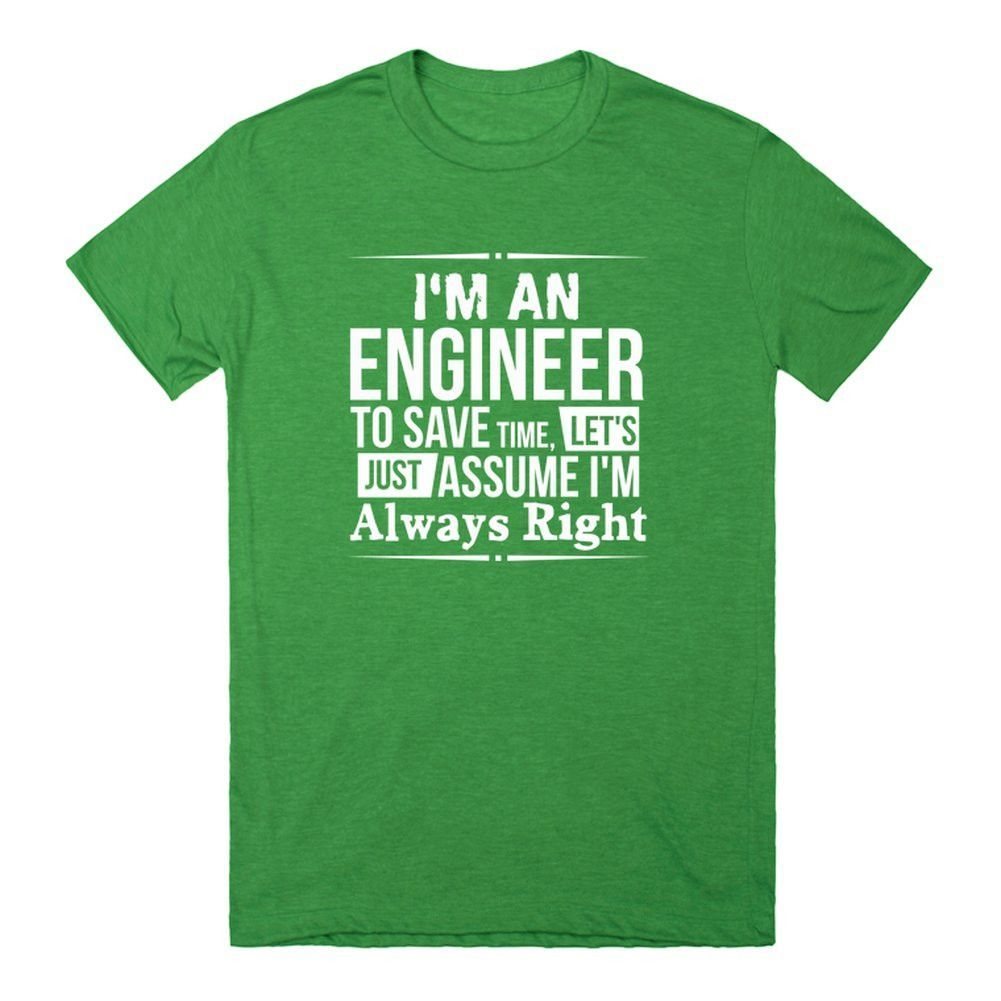 I'm An Engineer - Half Tiger Unisex Track Tee