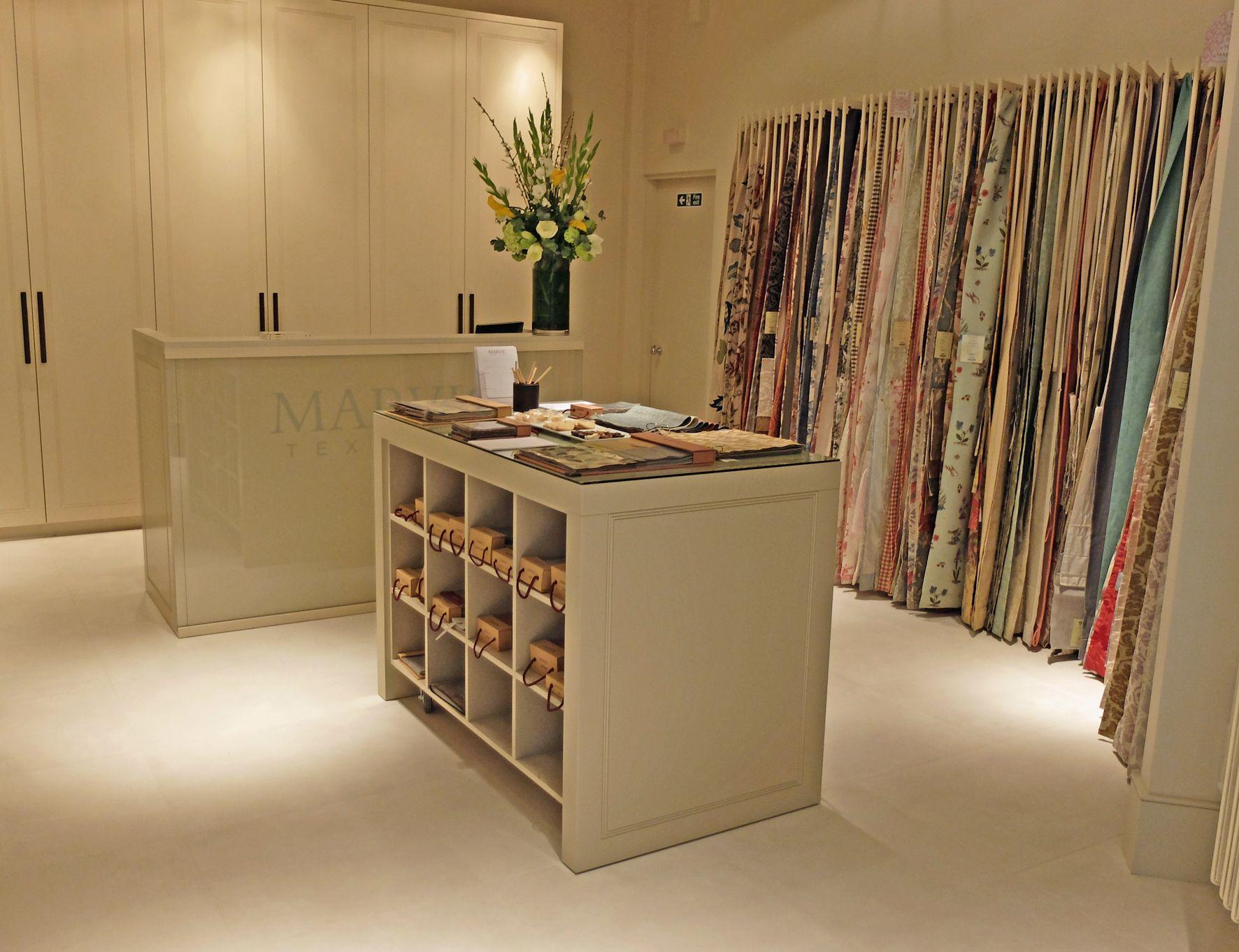 Marvic Textiles London showroom Design Centre Chelsea Harbour