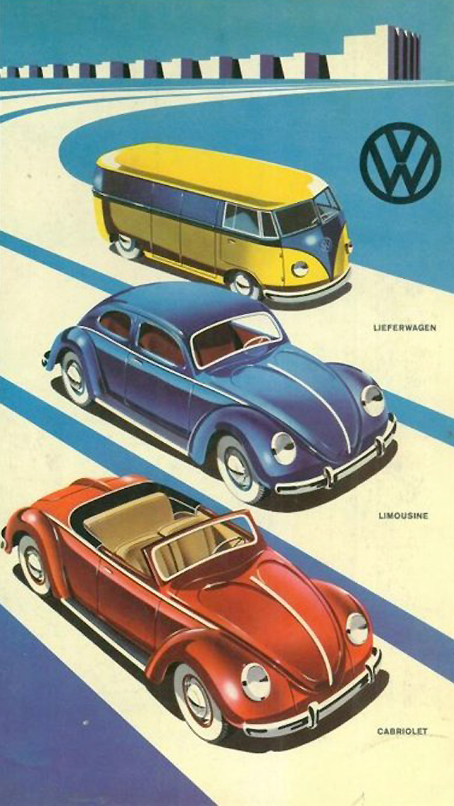 Volkswagen Vintage Style Poster Tap To See More Of Vintage