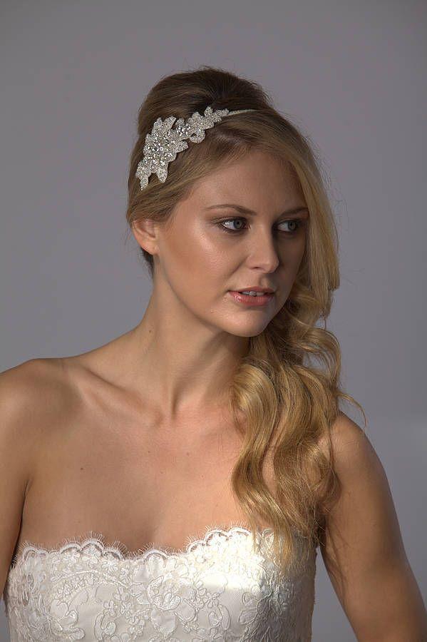 Summer Bridal Hairband By Sash Co Notonthehighstreet