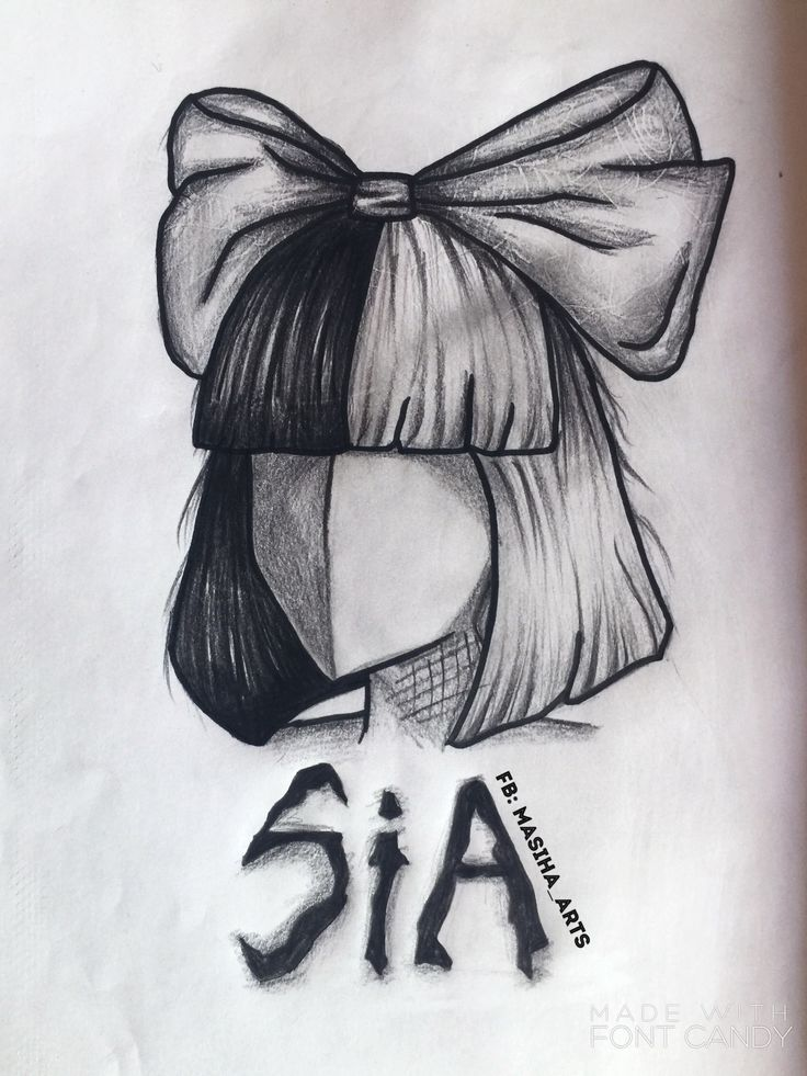 Puce excitée Sia # dessin au crayon puce excitée Sia, #Chip #Sia #thri ... - Herz