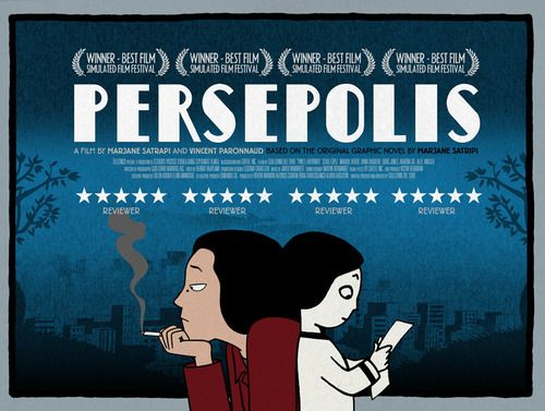 Not A Movie Poster Cinema Posters Good Movies Persepolis Book