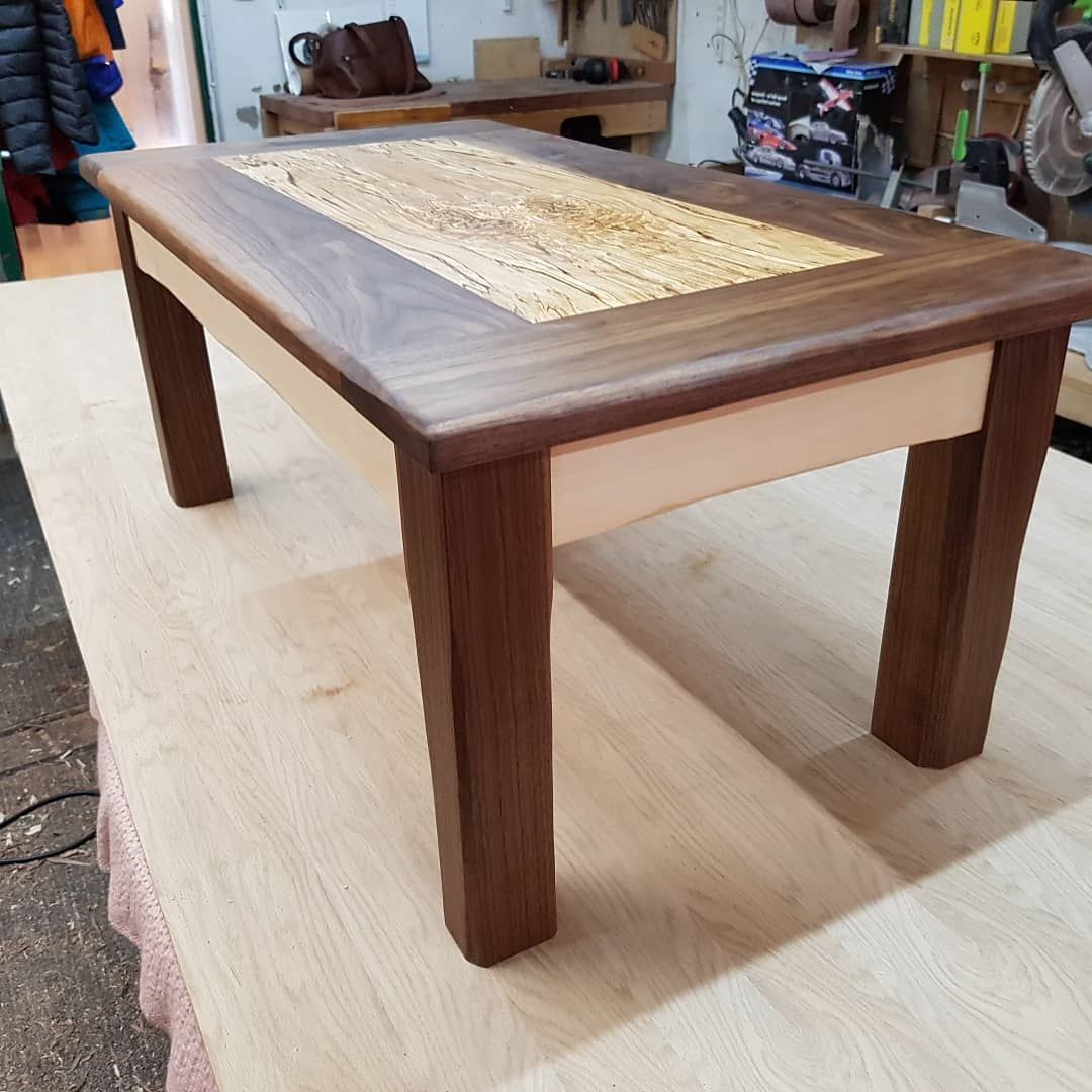 Black Walnut And Spalted Beech Coffee Table Very Happy Customer Very Happy Cabinet Maker Bespokefurni Beech Coffee Table Bespoke Furniture Furniture Making [ 1080 x 1080 Pixel ]