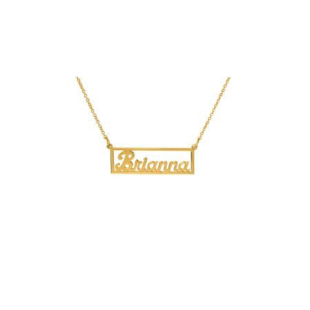 Pin By Gold Plated Jewelry Juno Jew On Name Necklace In 2020 Name Necklace Nameplate Necklace Silver Personalized Nameplate Necklace