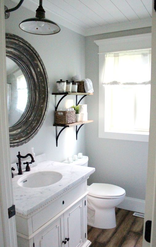 Gorgeous bathroom from proverbs 31 girl