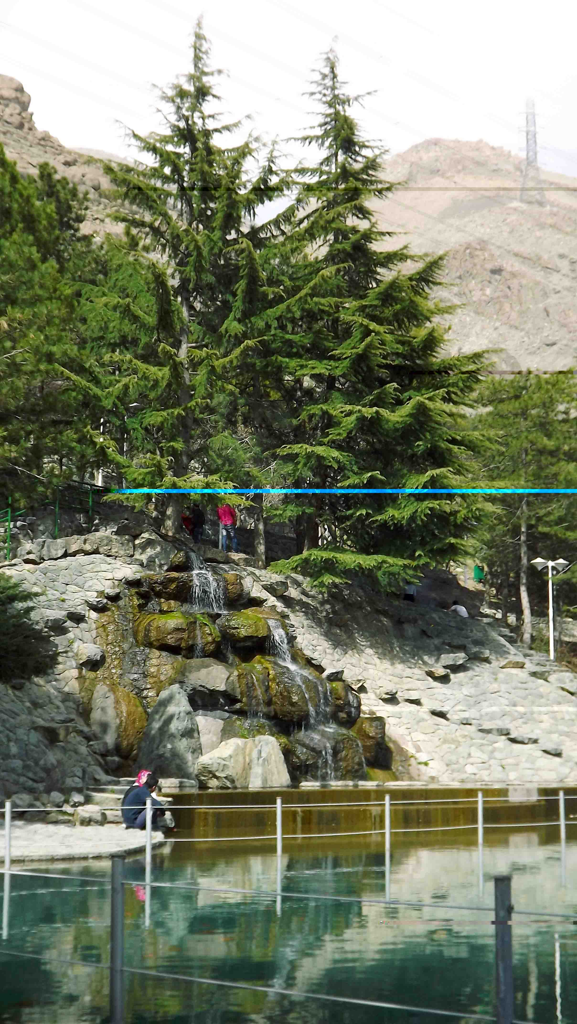Jamshidie Park , North of Tehran (shemroon) , Iran