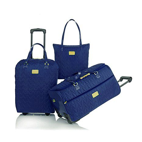 I WANT THE ALMOND!! LOVE IT!! Joy's TravelEase Quilted Lightweight ... : it quilted luggage - Adamdwight.com