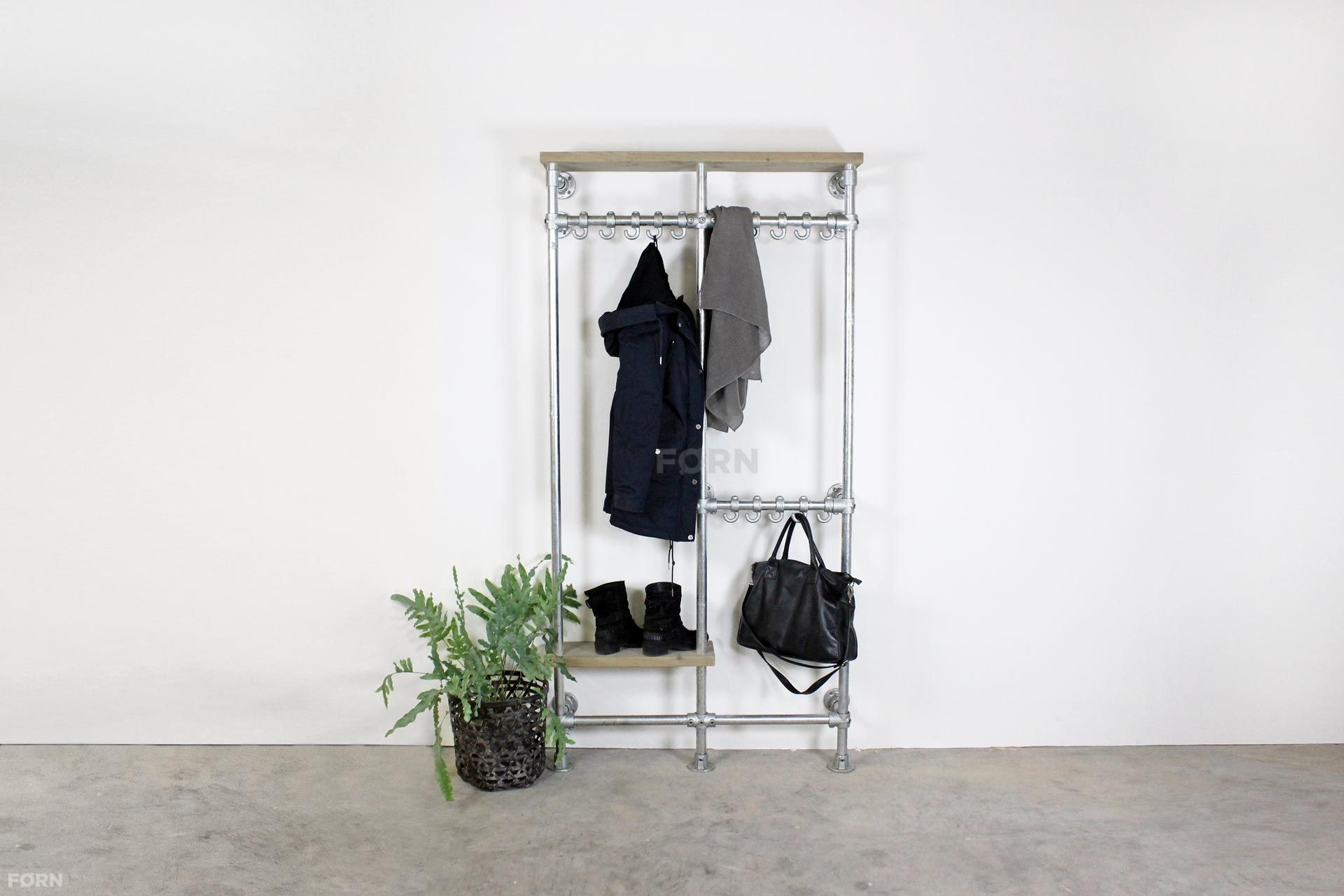 Wohnideen Büro Im Wohnzimmer bauholz garderobe brier bauholzmoebeldesign de bauholz design