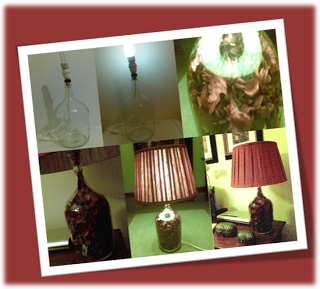 From a bottle to a lamp. DIY!