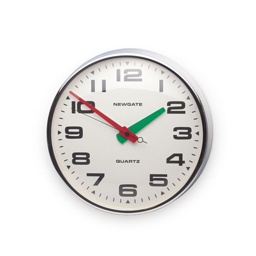 Newgate Brixton Vespa Wall Clock Chrome Kitchenwaredirect Com Au 249 Comes In Chrome Or Black Clock Wall Clock Wall Clock Simple