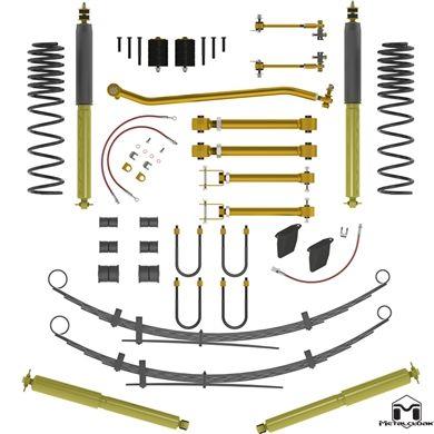 Metalcloak Duroflex Lift Kit 3 5 Xj Short Arm Arb Shocks