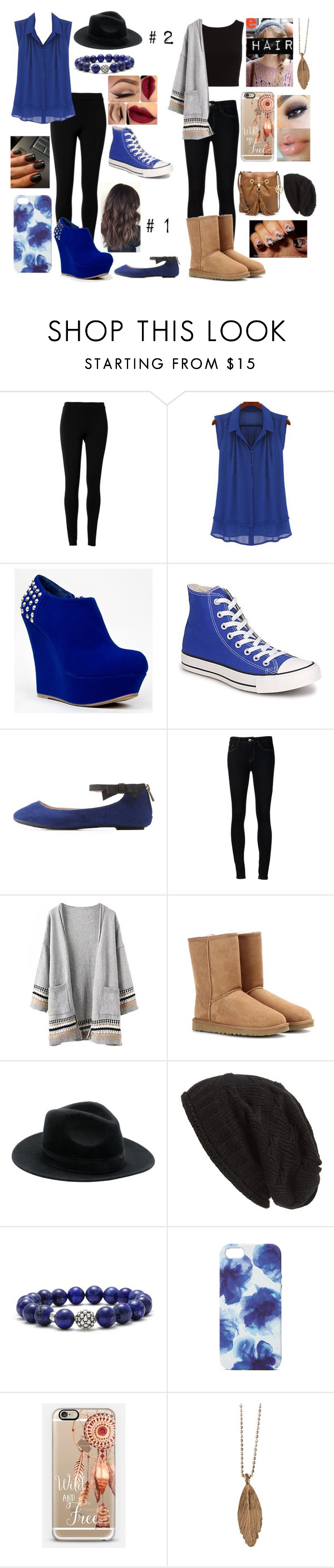 """""""Work Looks (Requested)"""" by xxcrazychicxx ❤ liked on Polyvore featuring Max Studio, Bamboo, Converse, Charlotte Russe, Ström, UGG Australia, David & Young, Lagos, Jigsaw and Casetify"""