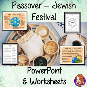 Passover, Jewish Festival - PowerPoint and Worksheets   My ...