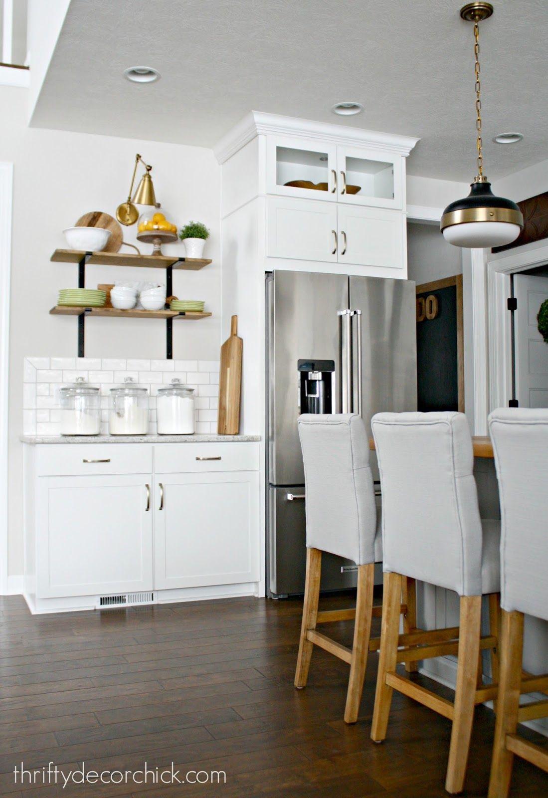 Hanging shelves in the kitchen (mit Bildern) | Regal ...