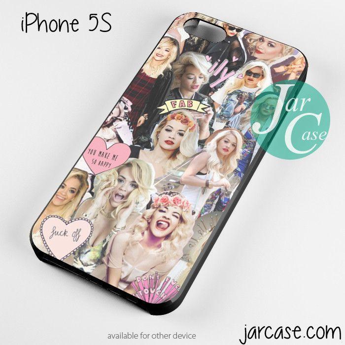 Rita Ora Collage Phone case for iPhone 4/4s/5/5c/5s/6/6 plus
