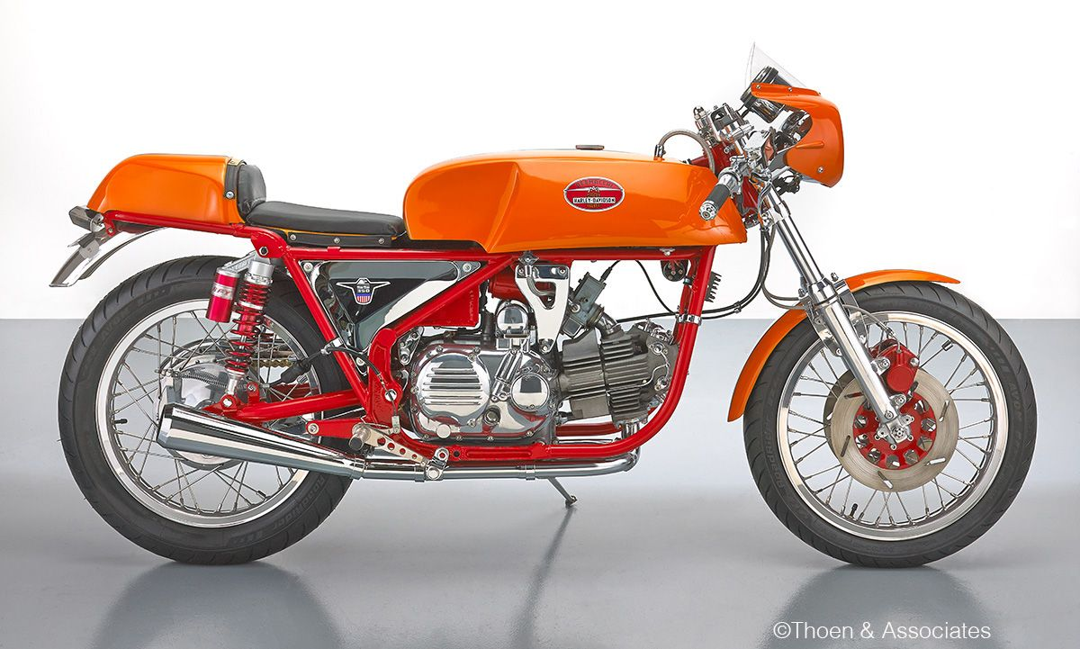 Aermacchi Harley Davidson 350 by Scott Brown