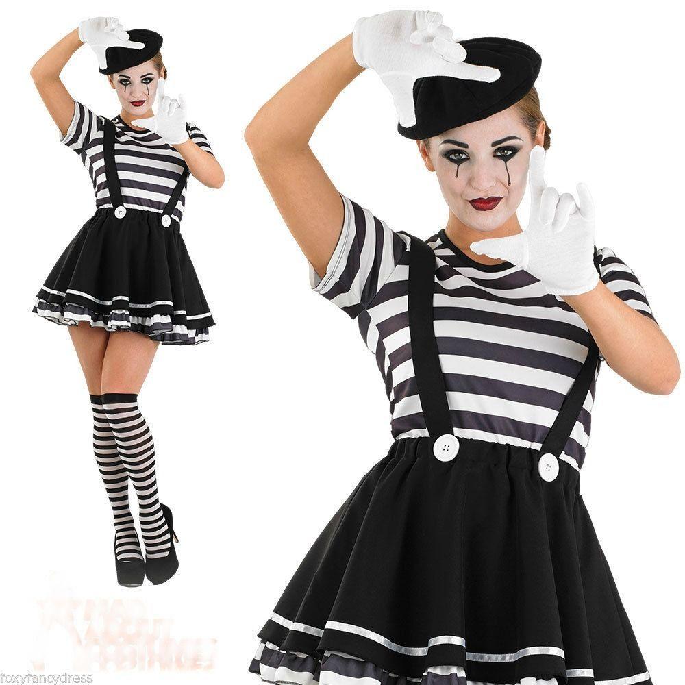 French Mime Costume Diy: Pin De Cecilia Esnal En Disfrases