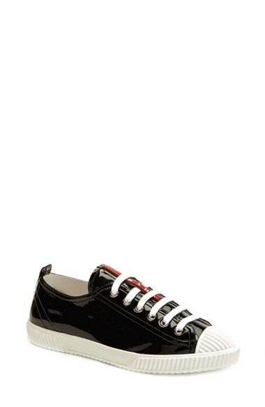 b36e03f3 Prada Lace-Up Sneaker (Women) available at #Nordstrom | Woman ...