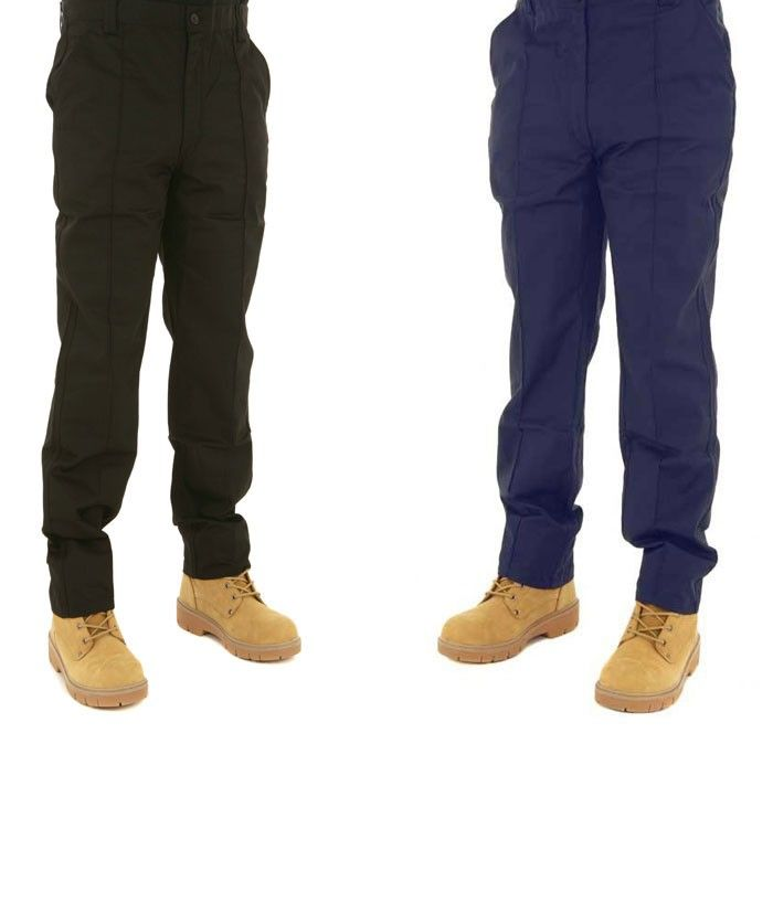 Discover our best valued classic work trousers, exclusive to Site King only  in navy, black or khaki.