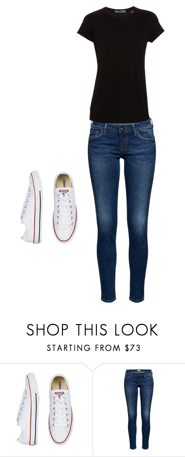 """""""casual out dot"""" by anyssa-manning on Polyvore featuring Vince"""