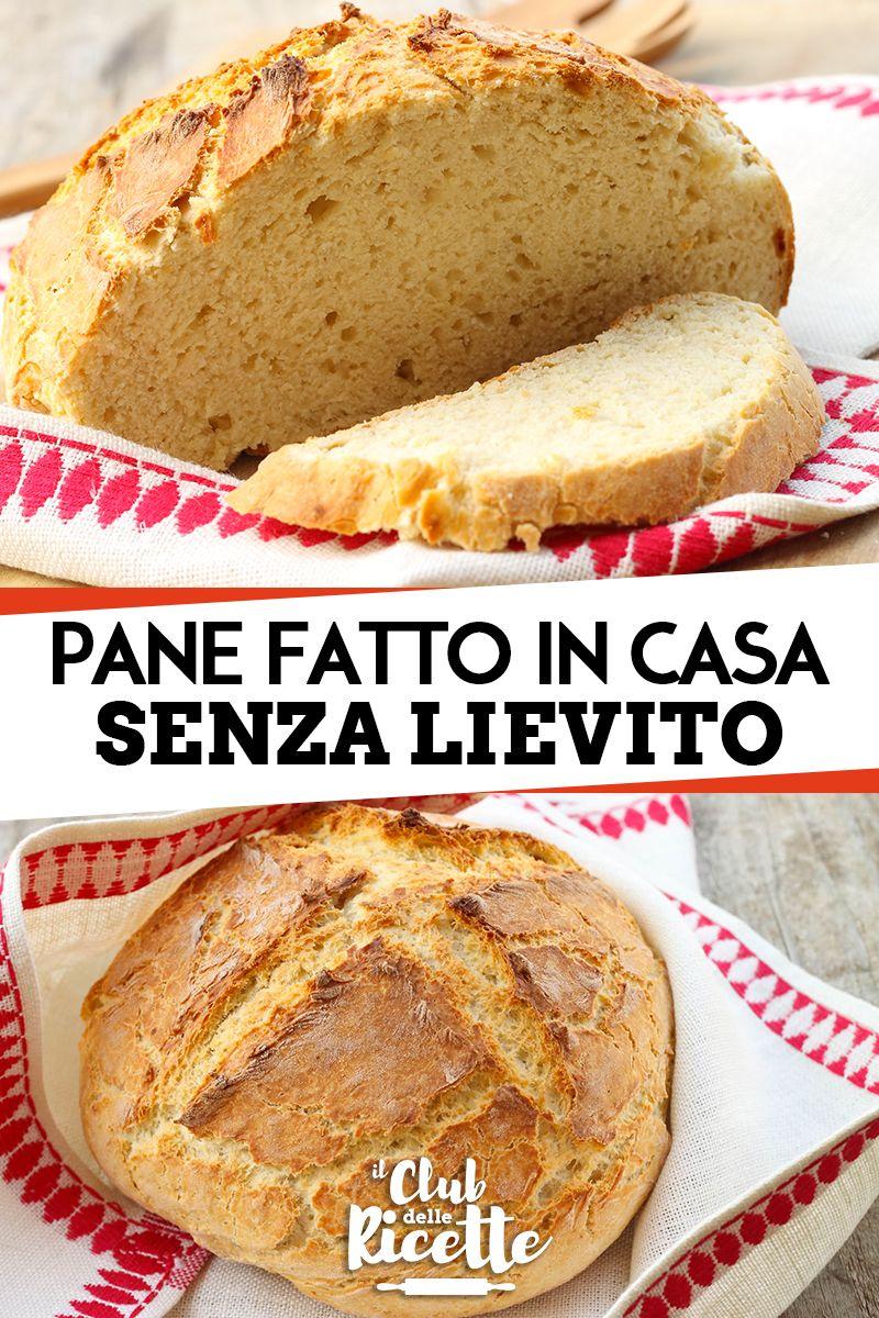Ricetta Per Il Pane Senza Lievito.Pin Su Ricette Senza Lievito