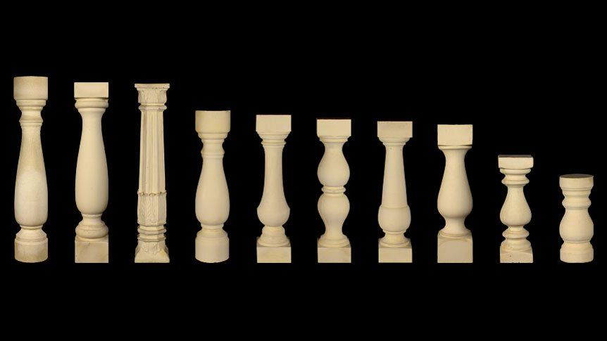 balustrade terms | Browse Our Selection of Cast Stone Balustrades | Construction Elements and ...